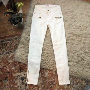 Frame Le Skinny de Jeanne White Jeans